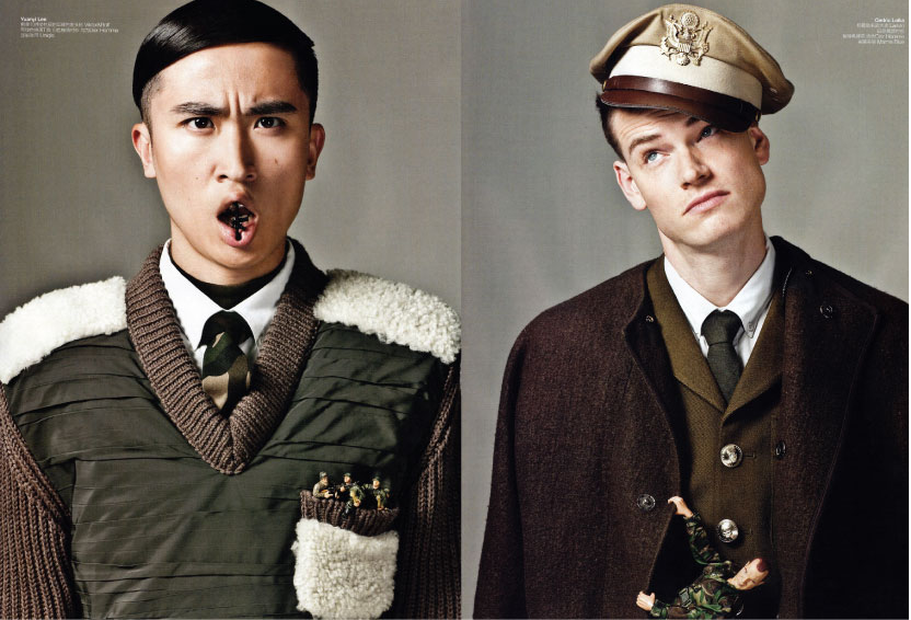GQ CHINA - Arthur et Philippine